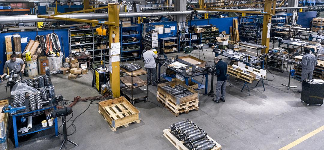 costruttori di cilindri oleodinamici